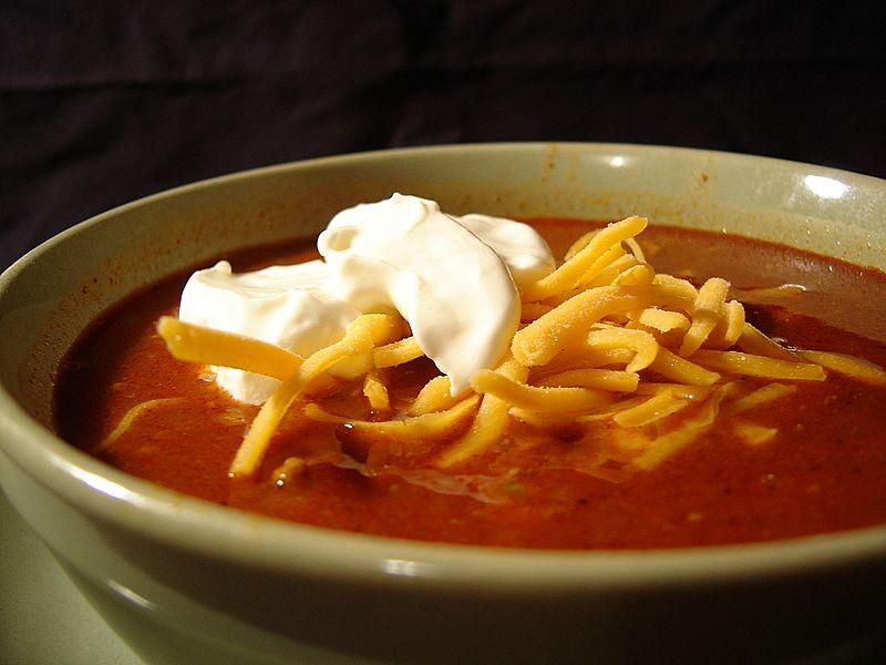 Chilli and sour cream