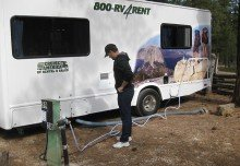 How to Hook Up and Unhook Your RV at a Campsite